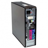 Компютър Dell Optiplex 745 SFF+Win 7 PRO+Office 2007