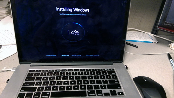 Windows 10 Build 10061 Installing 1 Wide